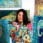 """Саломе Челидзе – автор мозаичной коллекции созданных маслом полотен награждена как лучшая художница в номинации """"Модерн Арт"""""""